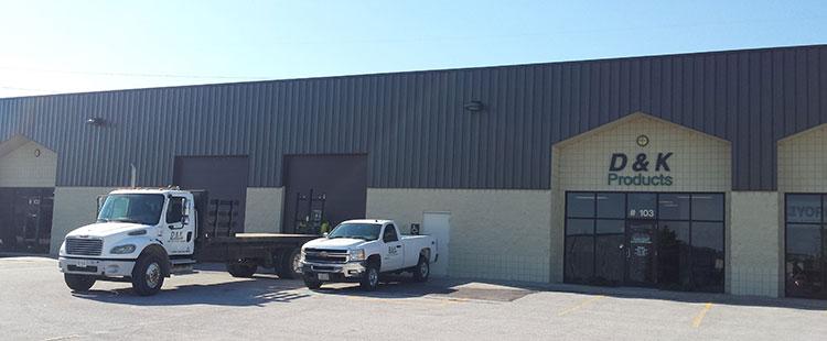 Omaha, Nebraska turf care products warehouse